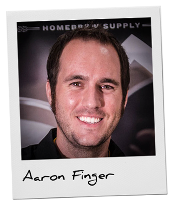 Aaron Finger Brewmaster at Northern brewer