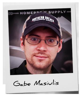 Gabe Masiulis Brewmaster at Northern brewer