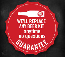 Beer Brewing Kits Guaranteed or Free Replacement