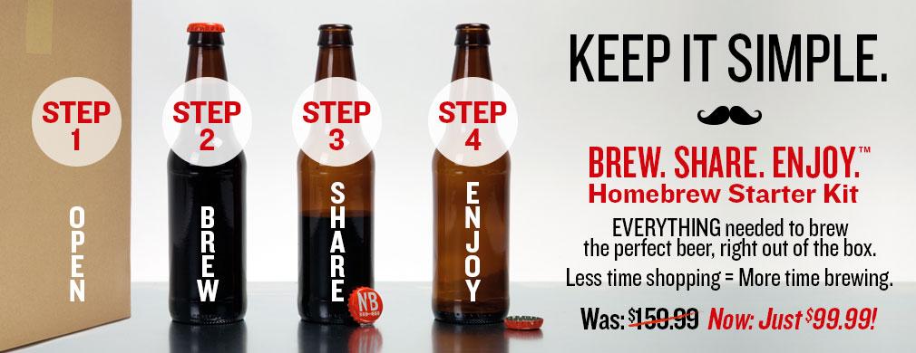 Brew, Share, Enjoy Starter Kit