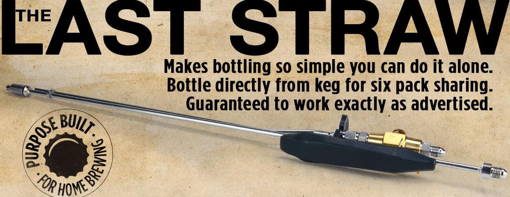 Last Straw Bottle Filler