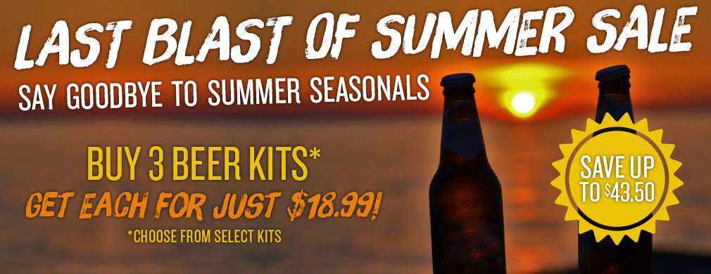 Summer Beer Sale
