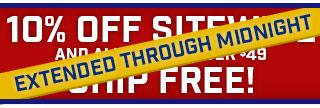 Take $10 off & Free Shipping