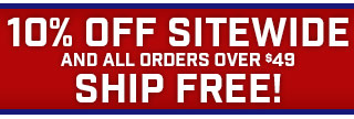Take $10 off & Free Shipping