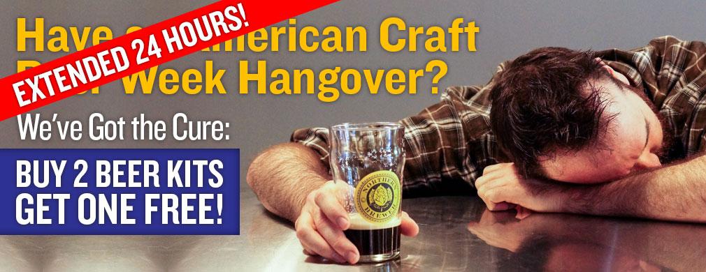Buy 2 Beer Kits, Get One Free